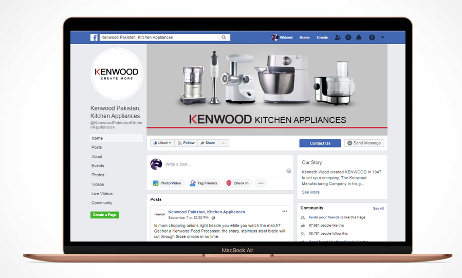 Kenwood Pakistan Kitchen Appliances